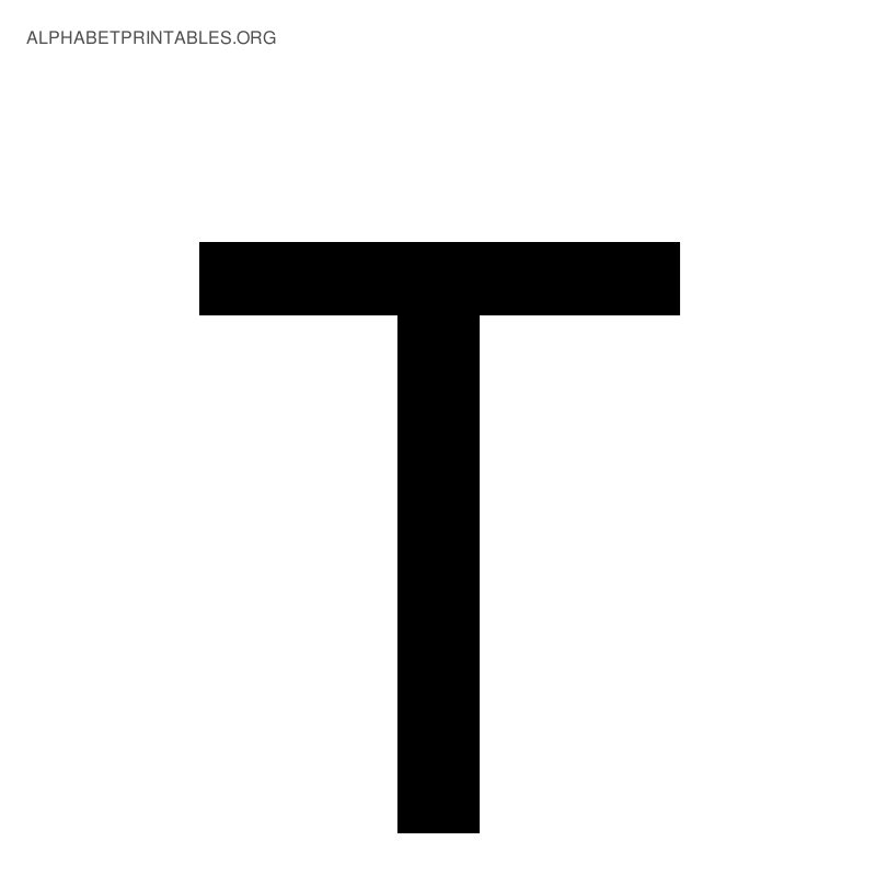 ... Letter T Tracing Worksheets Preschool as well Black Alphabet Letter T
