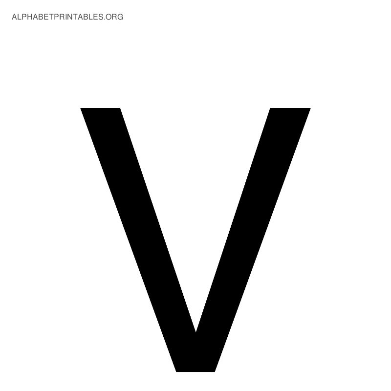 Alphabet V Pictures, Images & Photos | Photobucket